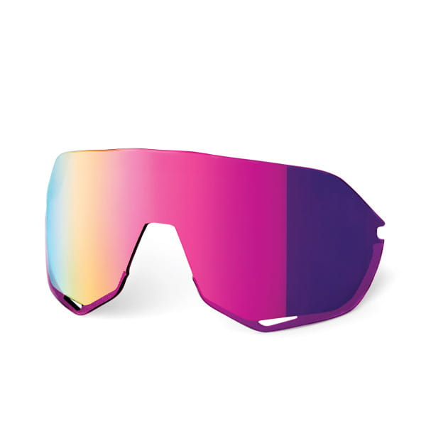 Replacement lenses Mirrored for S2 - Purple