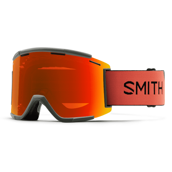 Squad XL MTB Goggle - Sage/Red Rock