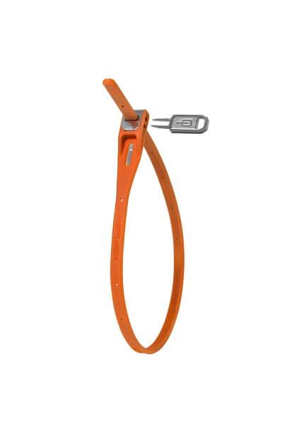 Hiplok Z-Lok (Single) 40cm Durchmesser - Orange