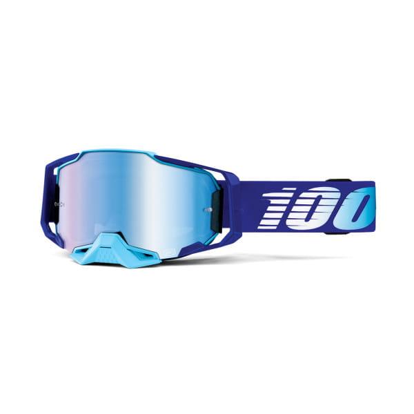 Armega Goggles Anti Fog - Blau/Hellblau - verspiegelt