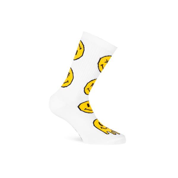 Socken Smiley - Weiß