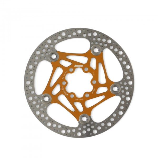 Road Rotor 160mm Bremsscheibe - orange