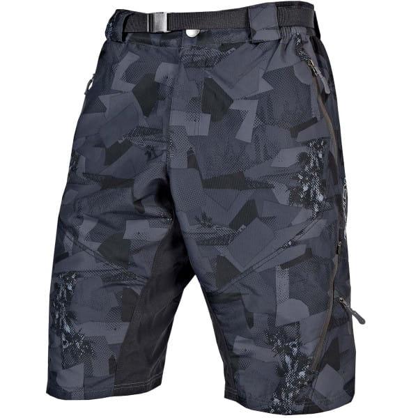 Hummvee II 3/4 Shorts - Grau Camo