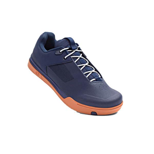 Mallet Schuh - Blau / Silber