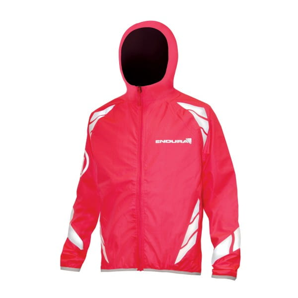 Kids Luminite II Jacke - Neon Pink