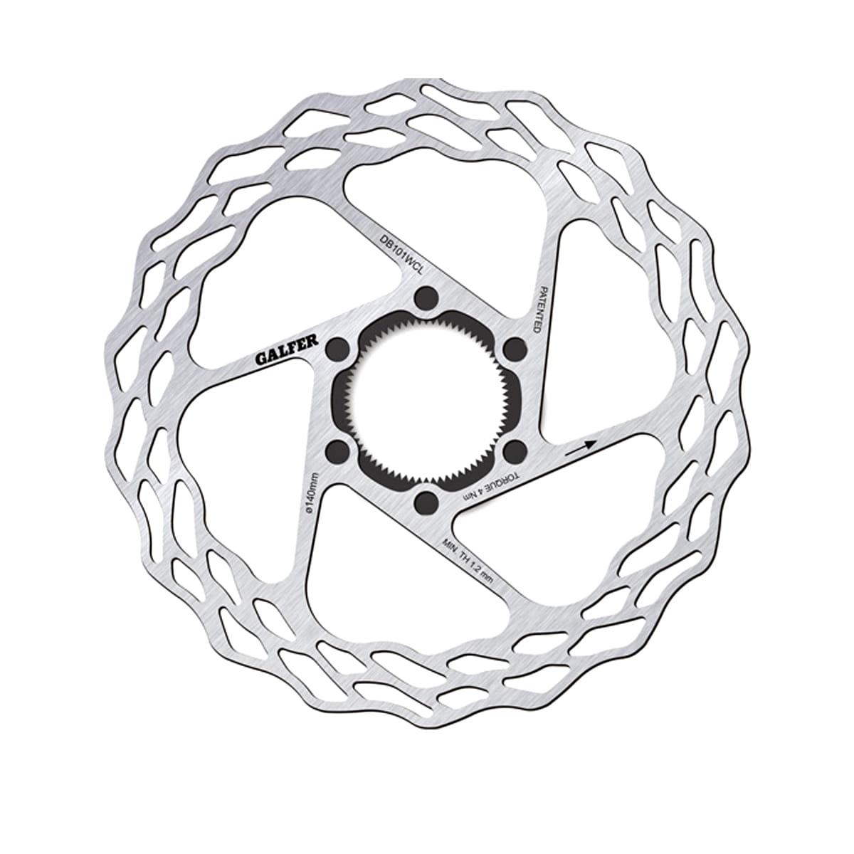 Galfer Wave Fixed Road Centerlock Bremsscheibe online kaufen | BMO Bike-Mailorder