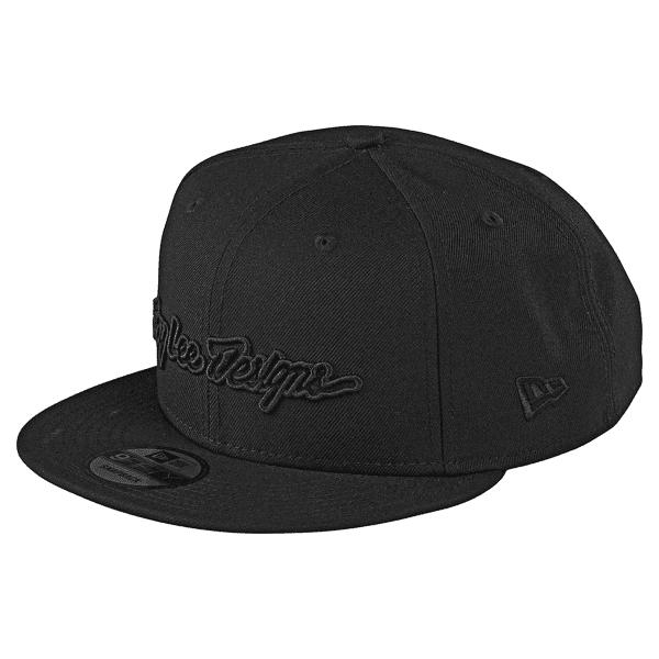 Signature Snapback Cap - Schwarz