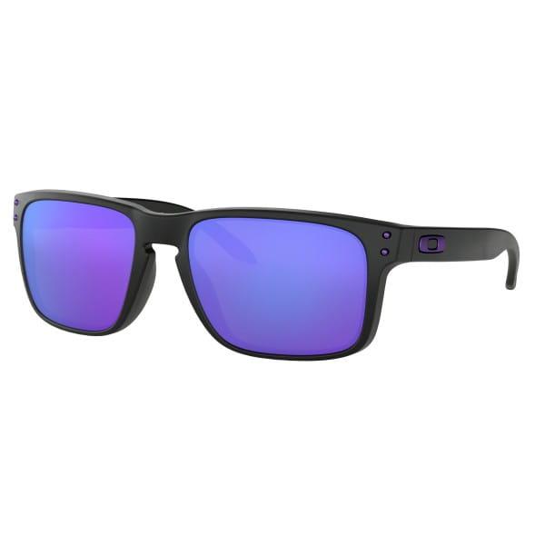 Holbrook Sonnenbrille - Matte Black - Violet Iridium