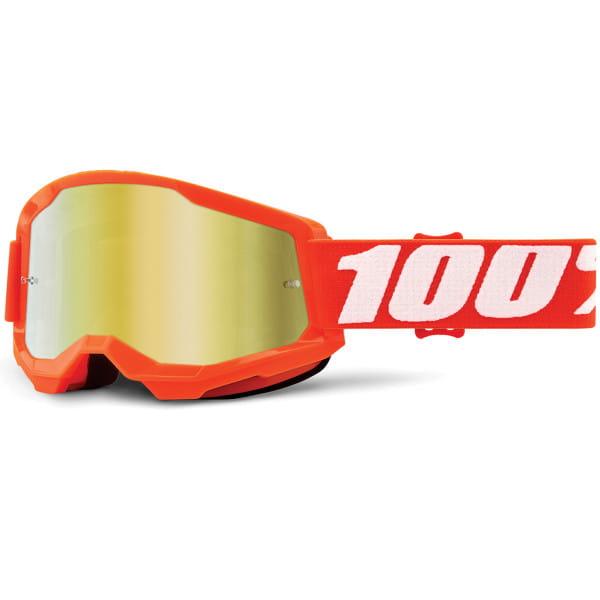 Strata Gen.2 anti fog Brille Mirror - Orange