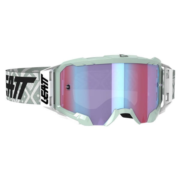 Velocity 5.5 Iriz Goggle Anti Fog Mirror Lens - Weiss