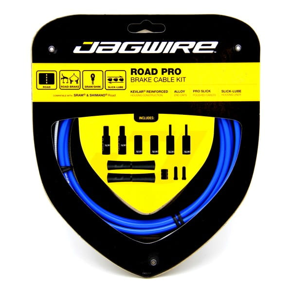 Brake Cable Set Road Pro Brake - Blue