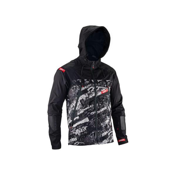 DBX 4.0 Jacket - Wasserdicht - Schwarz/Weiß