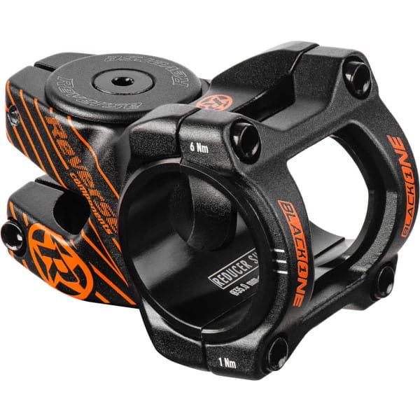 Black ONE D-2 Vorbau 35mm - schwarz/orange