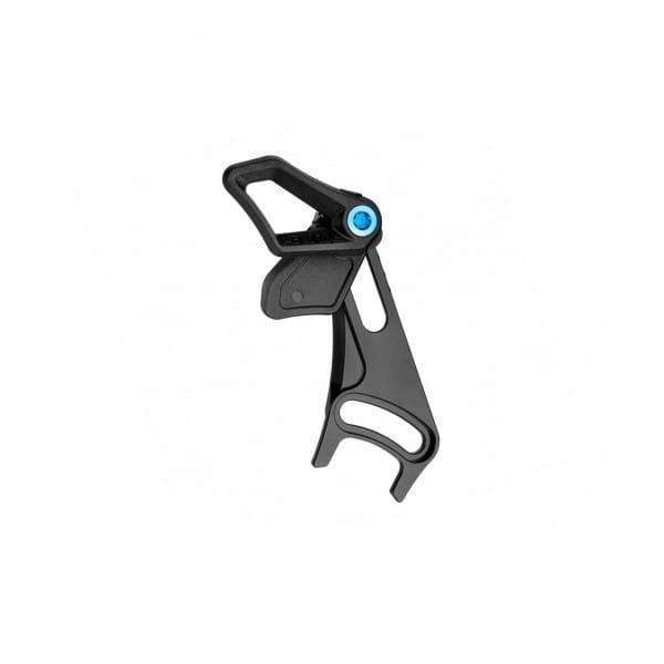 Oval Guide Kettenführung - ISCG05 BSA - schwarz