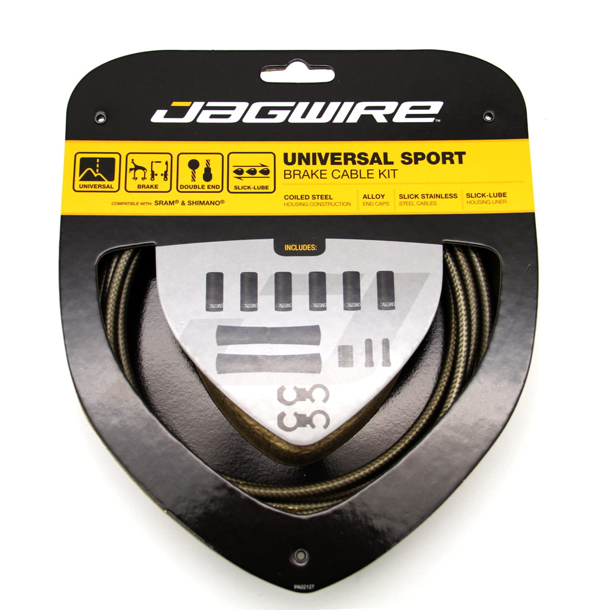 Jagwire Universal Sport Câble de frein Kit Noir