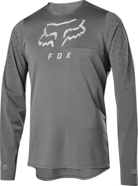 Flexair Delta LS Trikot - Grau Vintage