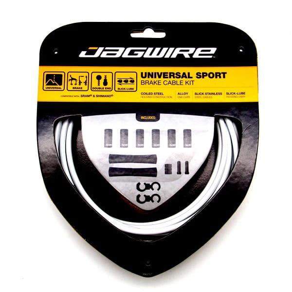 Bremszugset Universal Sport - Weiß