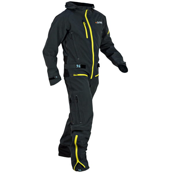 Dirtsuit Core Edition - Grau / Gelb