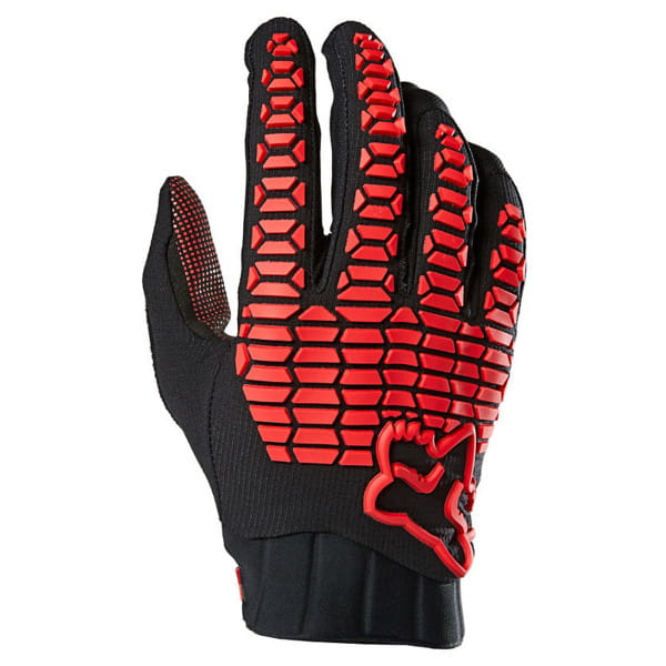 Limited Edition Defend Reno Gloves Handschuhe - Rot