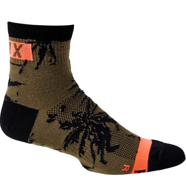 """4"""" Flexair - Merino Socken - Olive Grün"""