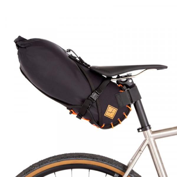 Satteltasche mit Drybag 8 L - Orange