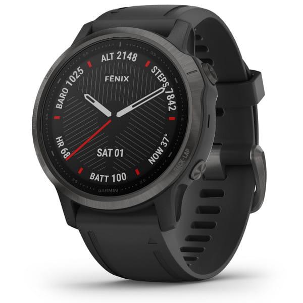 FENIX 6S Sapphire - GPS-Armbanduhr - Schwarz/Grau