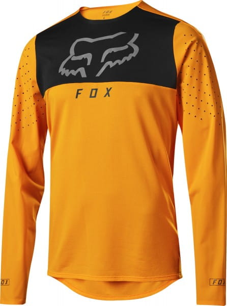 Flexair Delta LS Trikot - Atomic Orange
