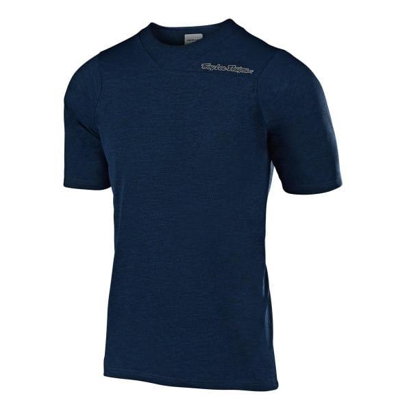 Skyline Jersey Short Sleeve - Navy Blue
