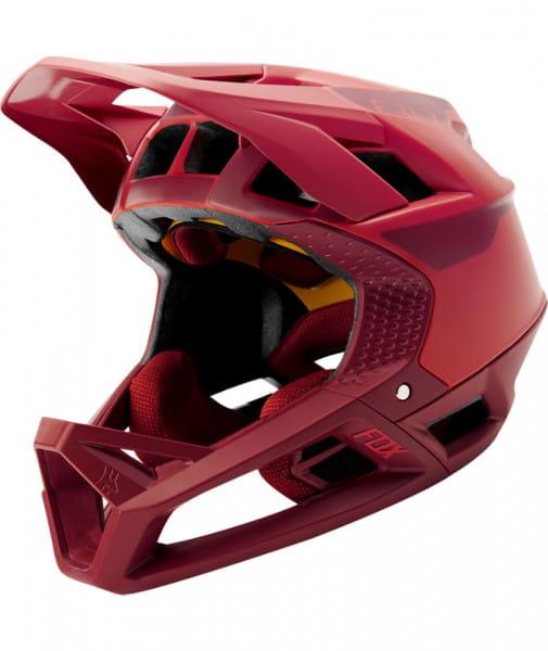 Proframe Quo - Fullface Helm rot