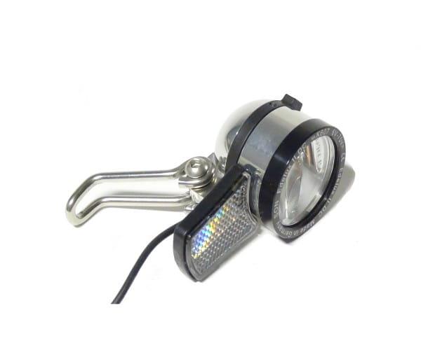 Edelux II-DC-für 6 bis 75 Volt LED-Scheinwerfer-silber poliert