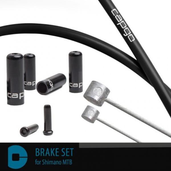 Bremsset BL für Shimano MTB - Schwarz