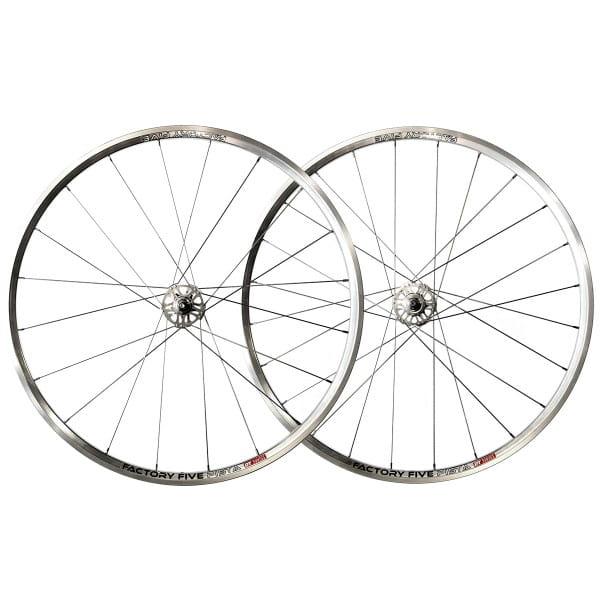 Pista Laufradsatz - silber