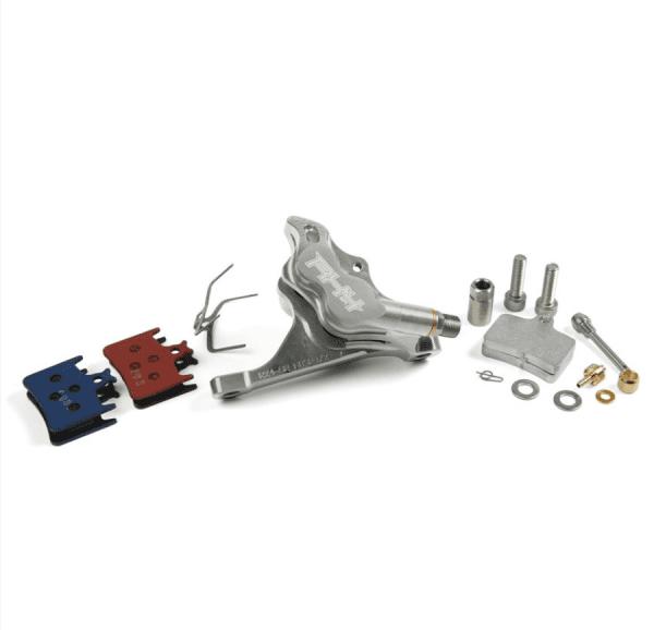RX4 Caliper Flatmount Complete front - Sram - Silver