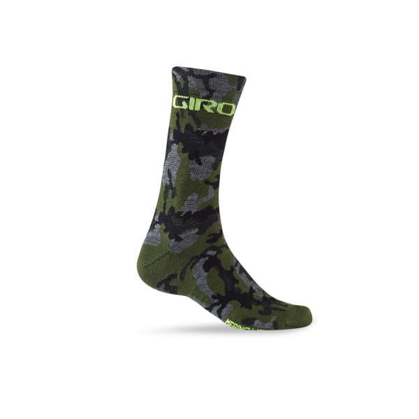 Merino Winter Socken - Camo