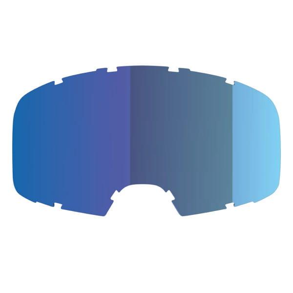 Ersatzglas verspiegelt für Goggles Hack/Trigger - Blau