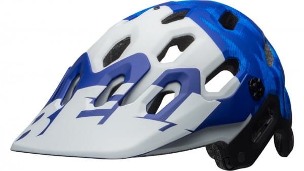 Bell SUPER 3 MIPS Helm - Blue/White