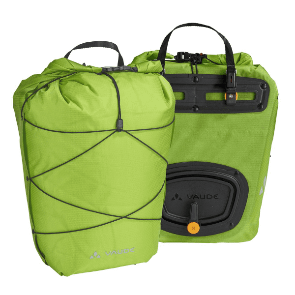 Aqua Back Light Carrier Bag - Green