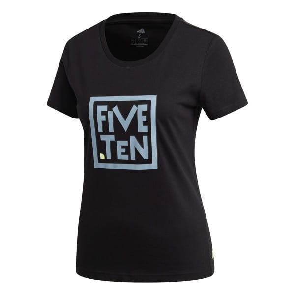 GFX T-Shirt - Damen - Schwarz/Blau