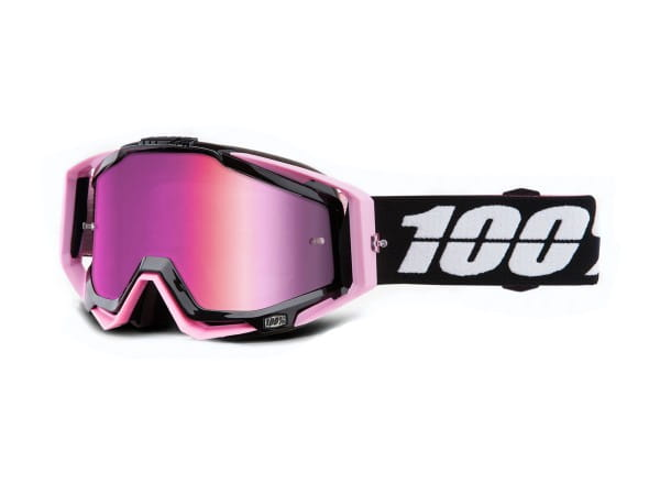 Racecraft Goggle Anti Fog Clear Lens - Floyd