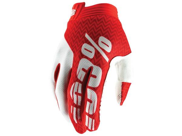 iTrack Glove - Rot/Weiß