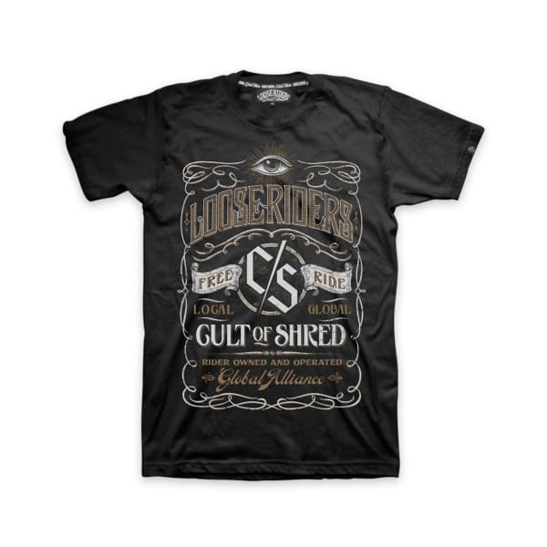 "T-Shirt ""Whiskey"" - Schwarz"