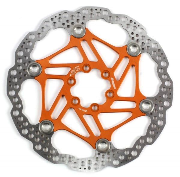 Floating Disc Bremsscheibe - orange