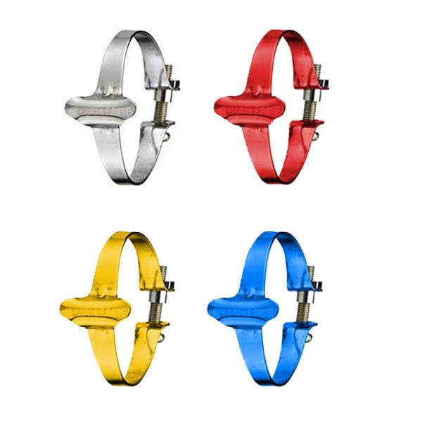 Kabelklemmen fürs Oberrohr - farbig