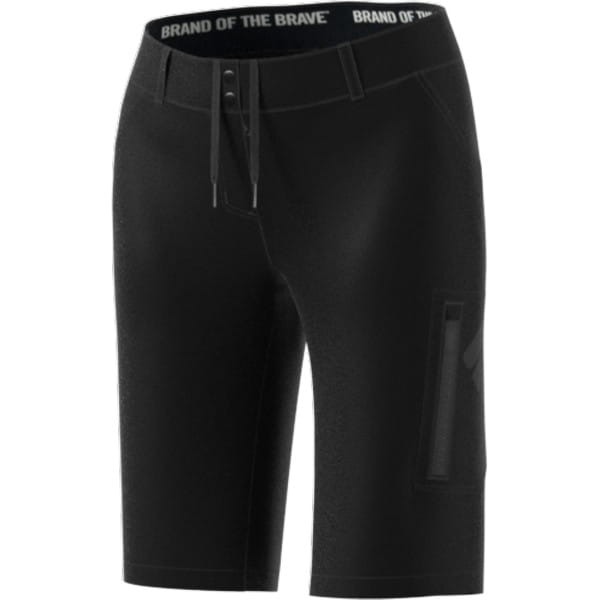 Primegreen Brand Of The Brave Womens Shorts - Schwarz