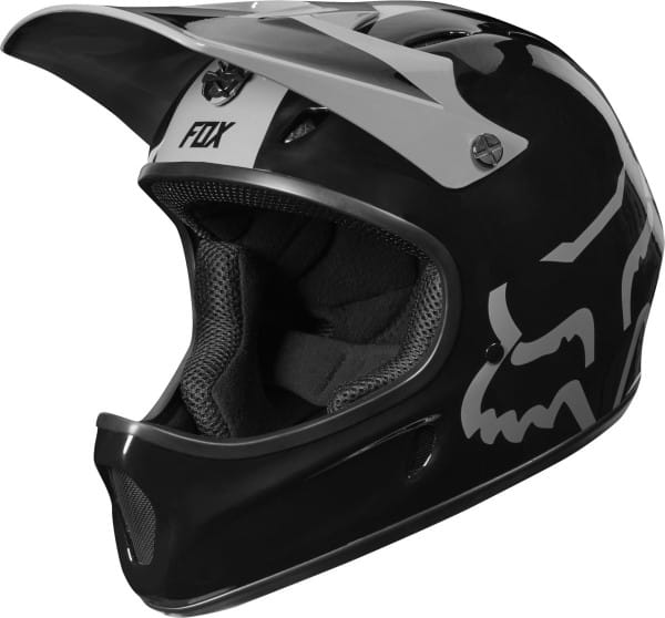 Rampage Helm - Schwarz