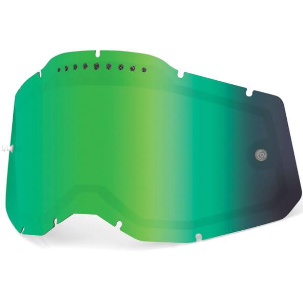 Gen. 2 Belüftetes Mirror Ersatzglas - Grün