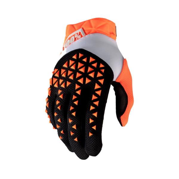 Airmatic Handschuhe - Orange/Schwarz