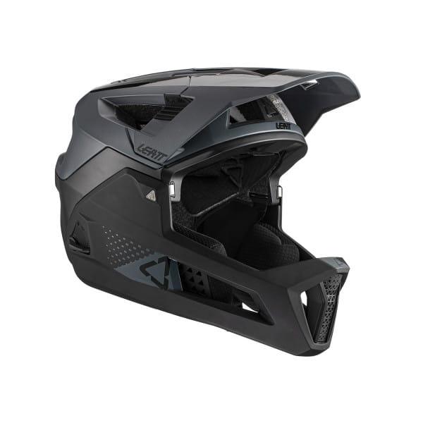 MTB 4.0 Enduro - Fullface Helm - Schwarz