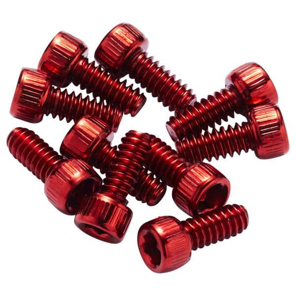 Ersatz Pins für Escape Pro+Black ONE Stahl - rot
