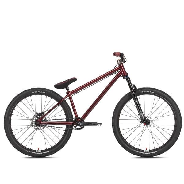 Metropolis 1 Cromo DJ-Expert - 26 Zoll Dirtbike - Rot